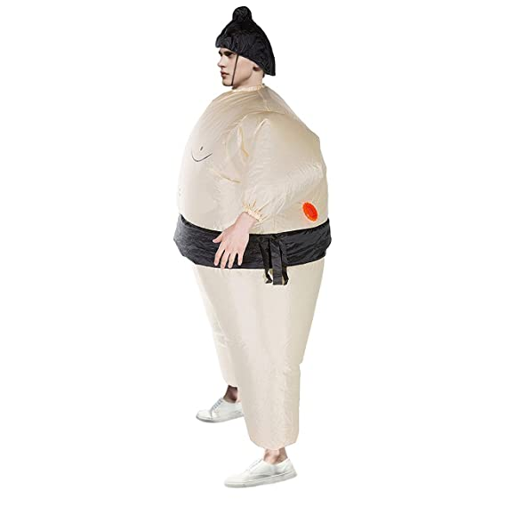 THEE Disfraces Inflable Luchador de Sumo Traje Hinchable para Halloween   Amazon.es  Juguetes y juegos 52c471bf074