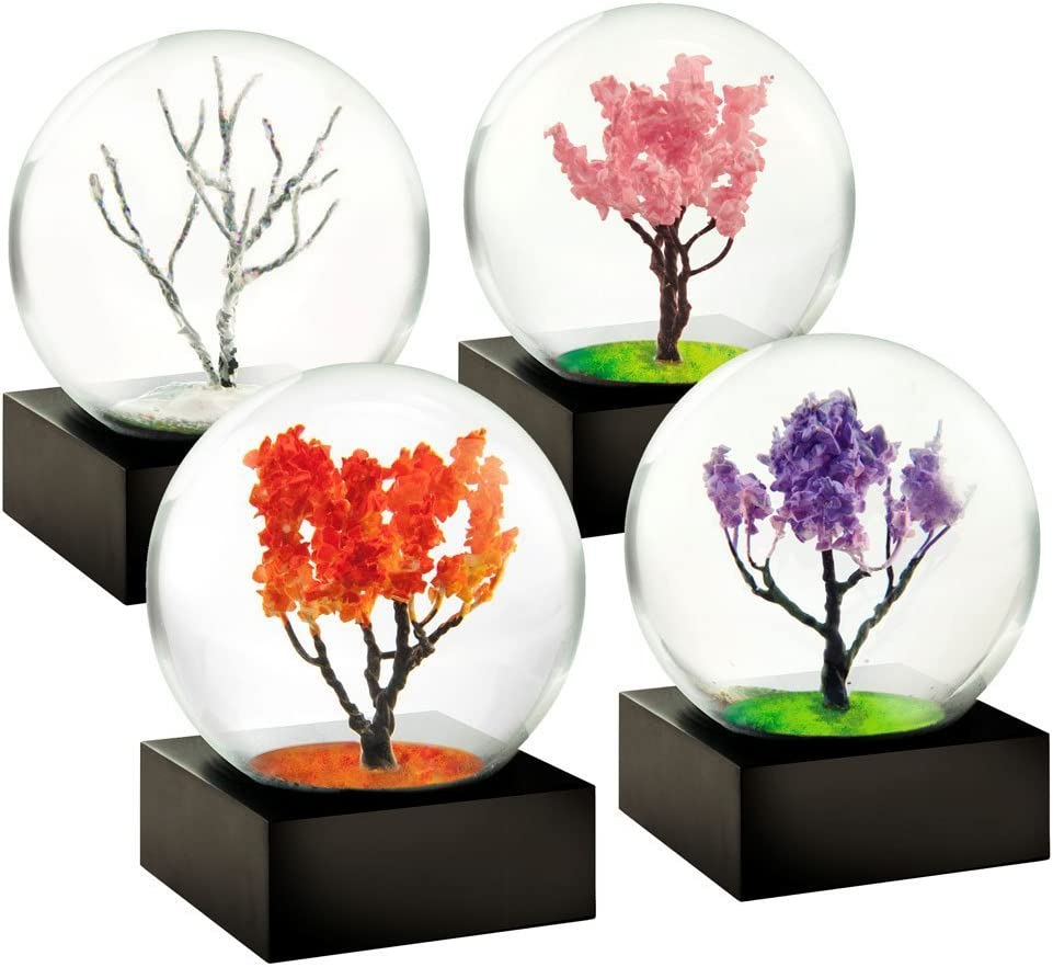 Mini Seasons set of 4 Snow Globes by CoolSnowGlobes