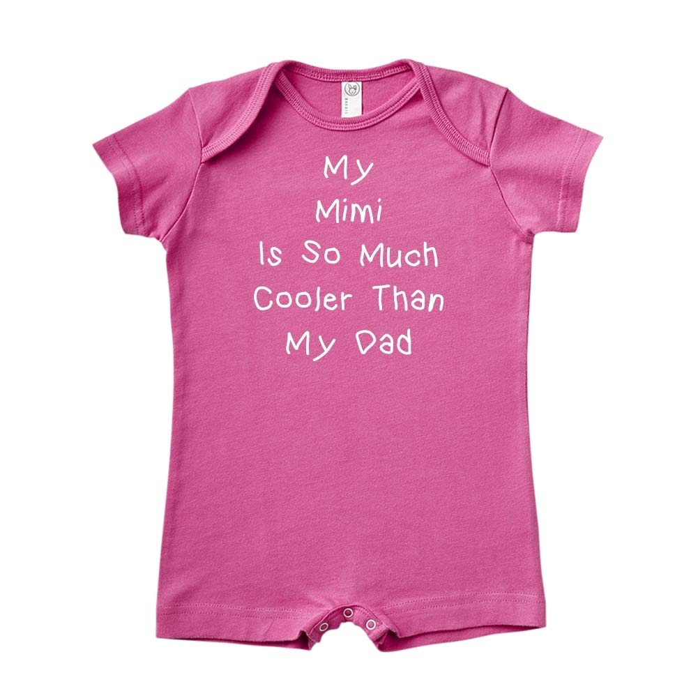 Baby Romper Mashed Clothing My Mimi is So Much Cooler Than My Dad