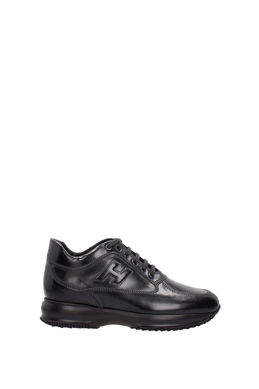Hogan メンズ HXM00N090428A19999 グレー 革 運動靴 B07DK5YJZR