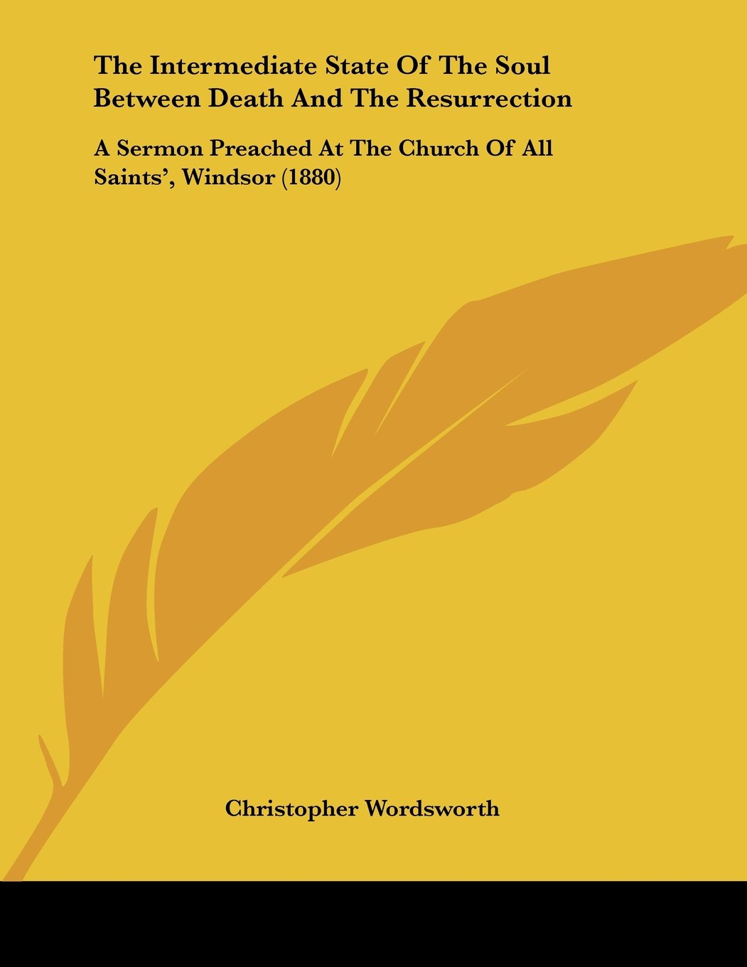 Read Online The Intermediate State Of The Soul Between Death And The Resurrection: A Sermon Preached At The Church Of All Saints', Windsor (1880) pdf epub