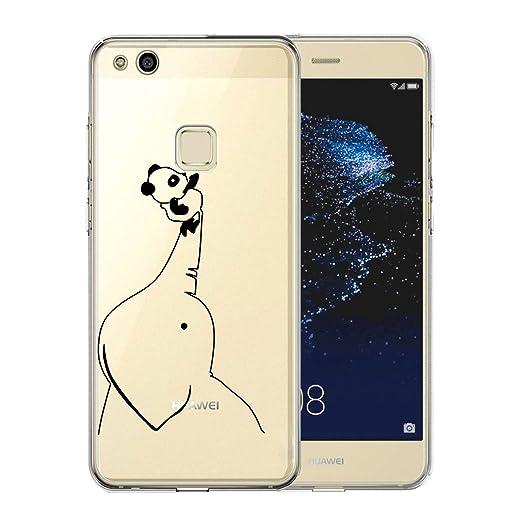 20 opinioni per Cover Huawei P10 Lite, AILRINNI Silicone Custodia Trasparente Morbida Case