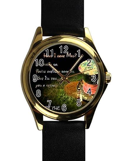 Pomelo Custom Alicia en el país de las maravillas reloj DIY diseño para usted: Amazon.es: Relojes