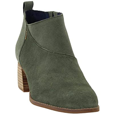 TOMS Womens Leilani Dress Booties Shoes, | Ankle & Bootie