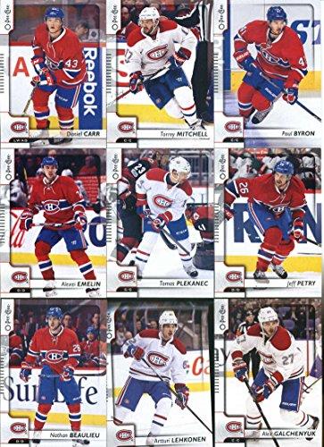 2017-18 O-Pee-Chee Hockey Montreal Canadiens Team Set of 18 Cards: Max Pacioretty(#8), Carey Price(#50), Andrei Markov(#90), Phillip Danault(#111), Brendan Gallagher(#143), Alexander Radulov(#173), Andreas Martinsen(#211), Andrew Shaw(#230), Shea Weber(#242), Artturi Lehkonen(#290), Nathan Beaulieu(#306), Alex Galchenyuk(#345), Alexei Emelin(#373), Jeff Petry(#394), Tomas Plekanec(#409), Daniel Carr(#431), Paul Byron(#456), Torrey Mitchell(#483) (Team Montreal Set Canadiens)