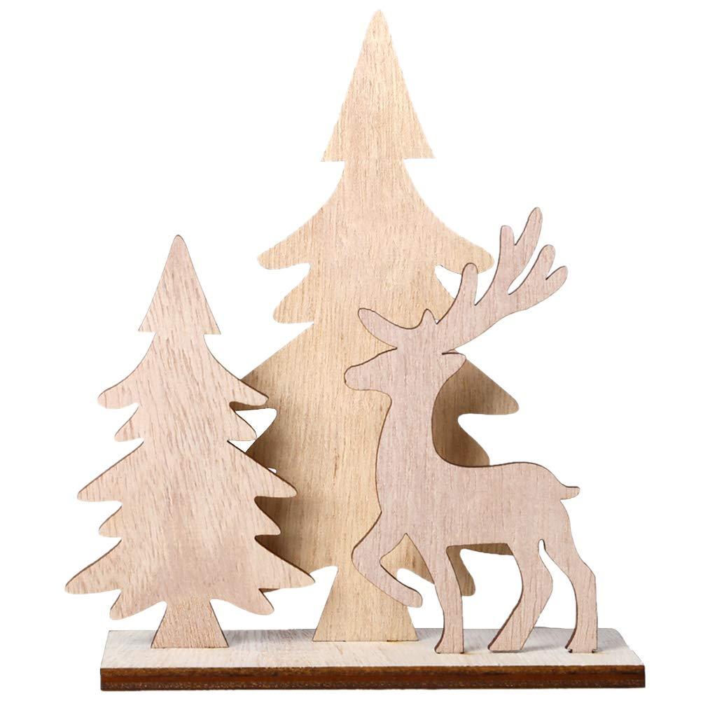 Amazon Com Haayward Creative Diy Wooden Crafts Christmas