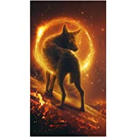 MagiDeal Wolf 5D Diamond Painting DIY Embroidery Cross Stitch Needlework Craft