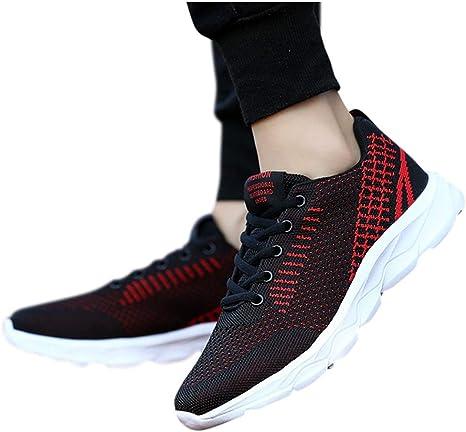 Mujer Gimnasia Ligero Sneakers Zapatillas de Deportivos de Running ...