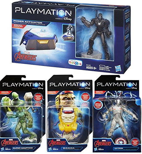 Child Rocket Raccoon Gloves (Playmation Marvel Villains Avengers Mega Pack Exclusive War Machine Power Activator 4 Figure Set Super Adapted / M.O.D.O.K. / Ultron Deluxe Edition)