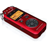 TASCAM DR-05R PORTABLE DIGITAL RECORDER-RED (VERSION 2)