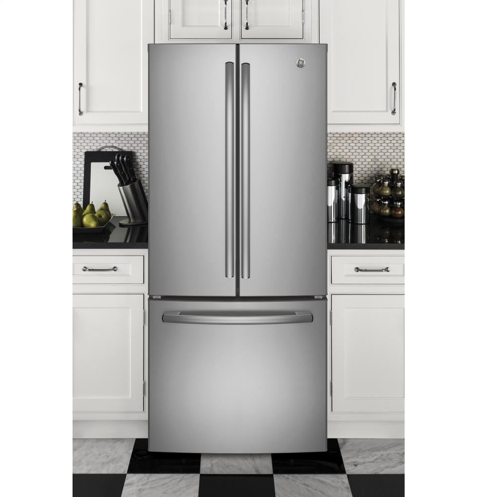 Design Ge Slate Refrigerator amazon com ge gne21fskss 30 energy star qualified french door refrigerator with 20 8 cu ft capacity in stainless steel applia