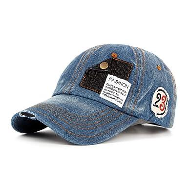 GERUIQI Gorra de béisbol de algodón Lavado Gorra de béisbol ...