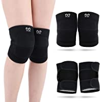 boruizhen Protective Knee Pads for Dancers, Thick Sponge Volleyball Knee Pads for Women Men Anti-Slip Breathable Soft…