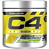 Cellucor ID Series C4 Pre Workout Original Icy Blue Raspberry, 30 Servings