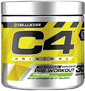 Cellucor ID Series C4 Pre Workout Original Berry Bomb Dietary Supplement 30 Servings