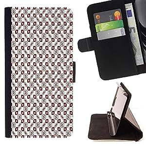 Dragon Case - FOR Samsung ALPHA G850 - An orderly world - Caja de la carpeta del caso en folio de cuero del tir¨®n de la cubierta protectora Shell