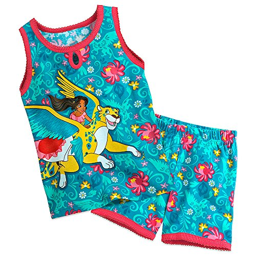 Disney Elena Pajamas Short Girls