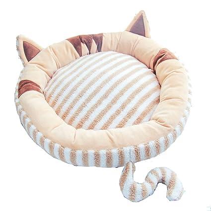 CDREAM Cama Para Gatos Suave Y Confortable Aspecto Encantador Asiento Extraíble Fácil De Limpiar Todas Las