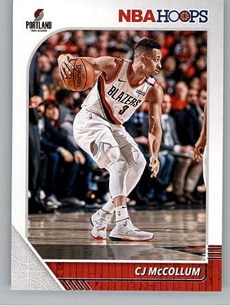 J C Bundle 5 Portland Trail Blazers Trading Card Gift Pack McCollum Basketball Cards Assorted
