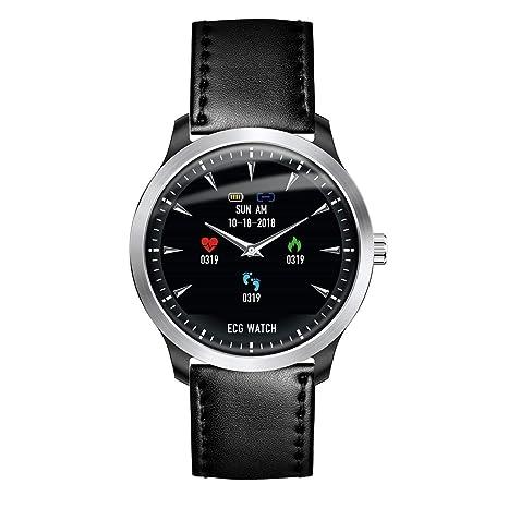 Ballylelly Smart Watch Pulsera ECG Smartwatch Ritmo cardíaco ...