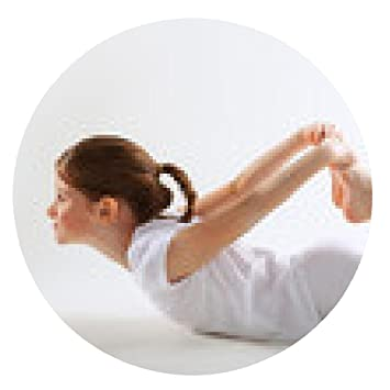 alfombrilla de ratón chica joven que hace yoga - ronda ...