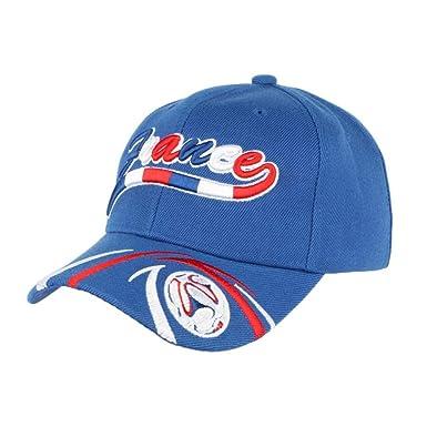 en ligne ici Acheter Authentic Quantité limitée PAYS Casquette France Foot Bleu Blanc Rouge Tricolore ...
