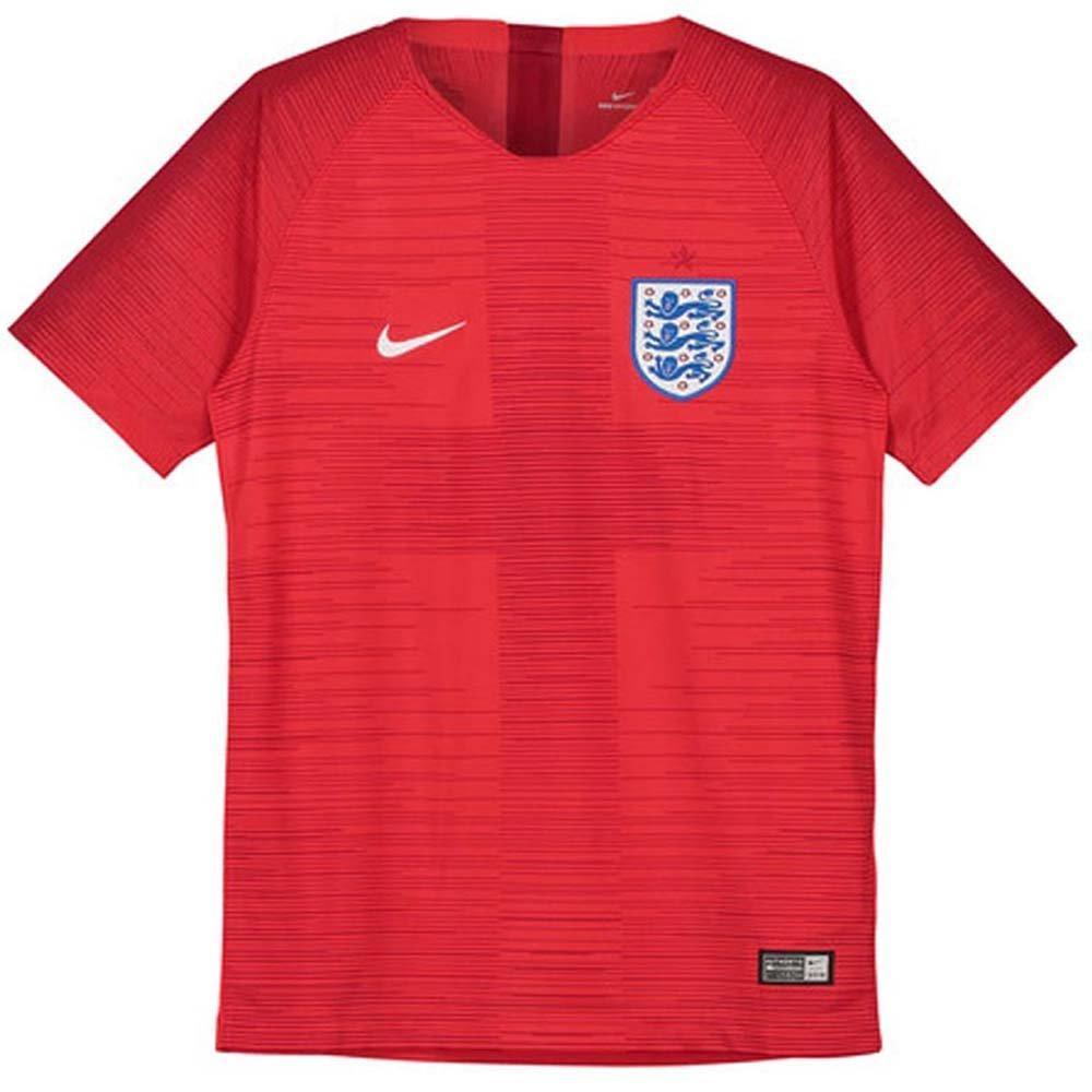 Nike 2018 England Youth Away Jersey- Red YXL