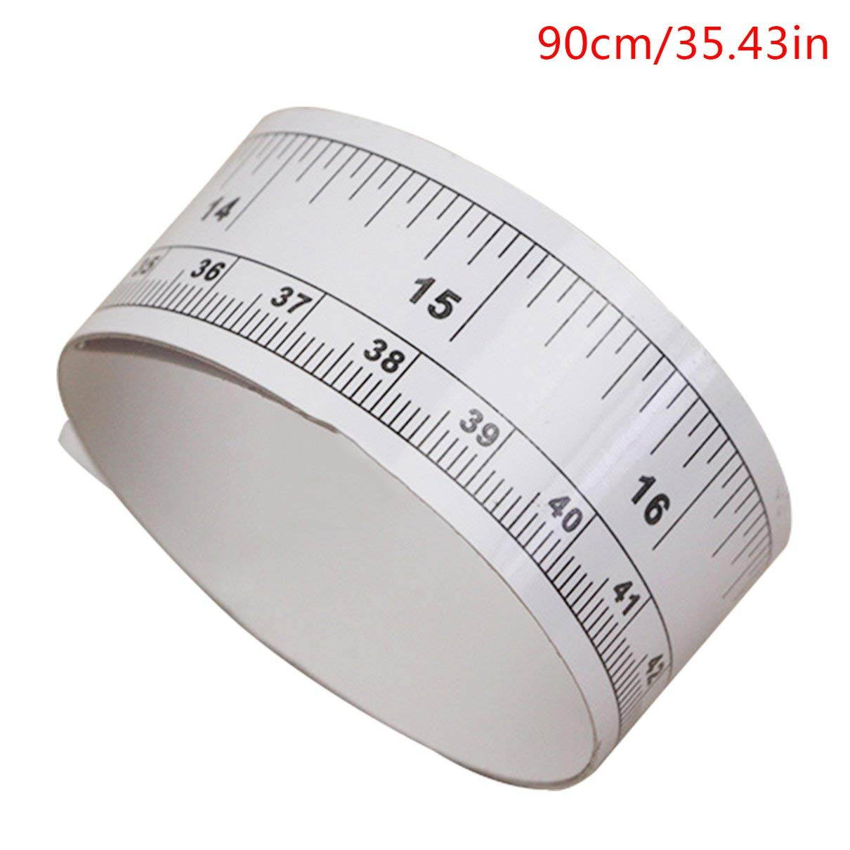 sticky ruler 90cm Sticky Scale Self Adhesive Metric Measure Gauge Tape Vinyl Ruler For Sewing Machine Sticker