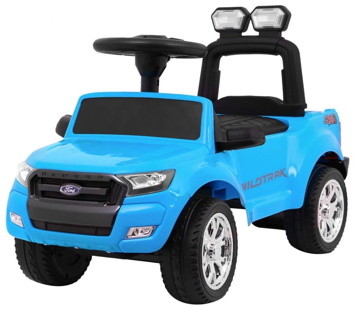Auto per Bambini Girello Cavalcabile Bobby Car - Ford Ranger - Blu