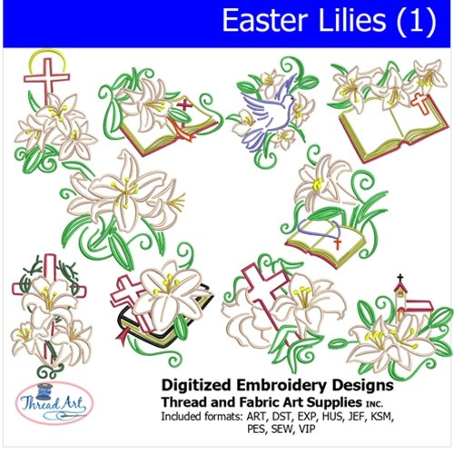 Easter Machine Embroidery Designs - 7