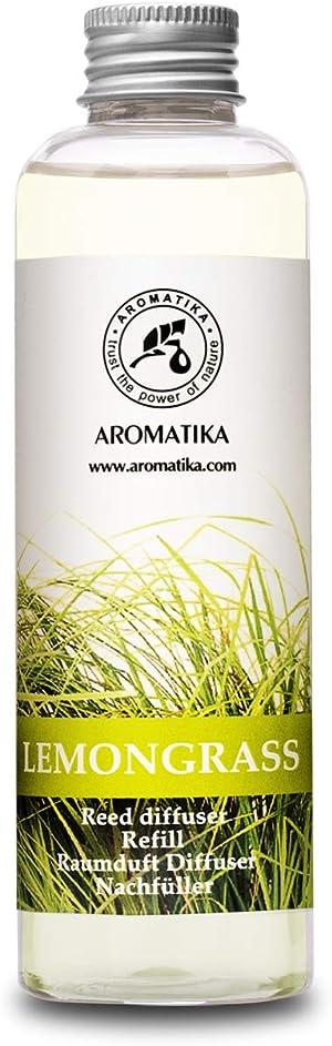 Lemongrass Reed Diffuser Refill, Natural Essential Lemongrass Oil 6.8oz - Fresh & Long Lasting Fragrance - 0% Alcohol - Best Reed Diffuser Oil Refill for Aromatherapy - Home - Office - Restaurant
