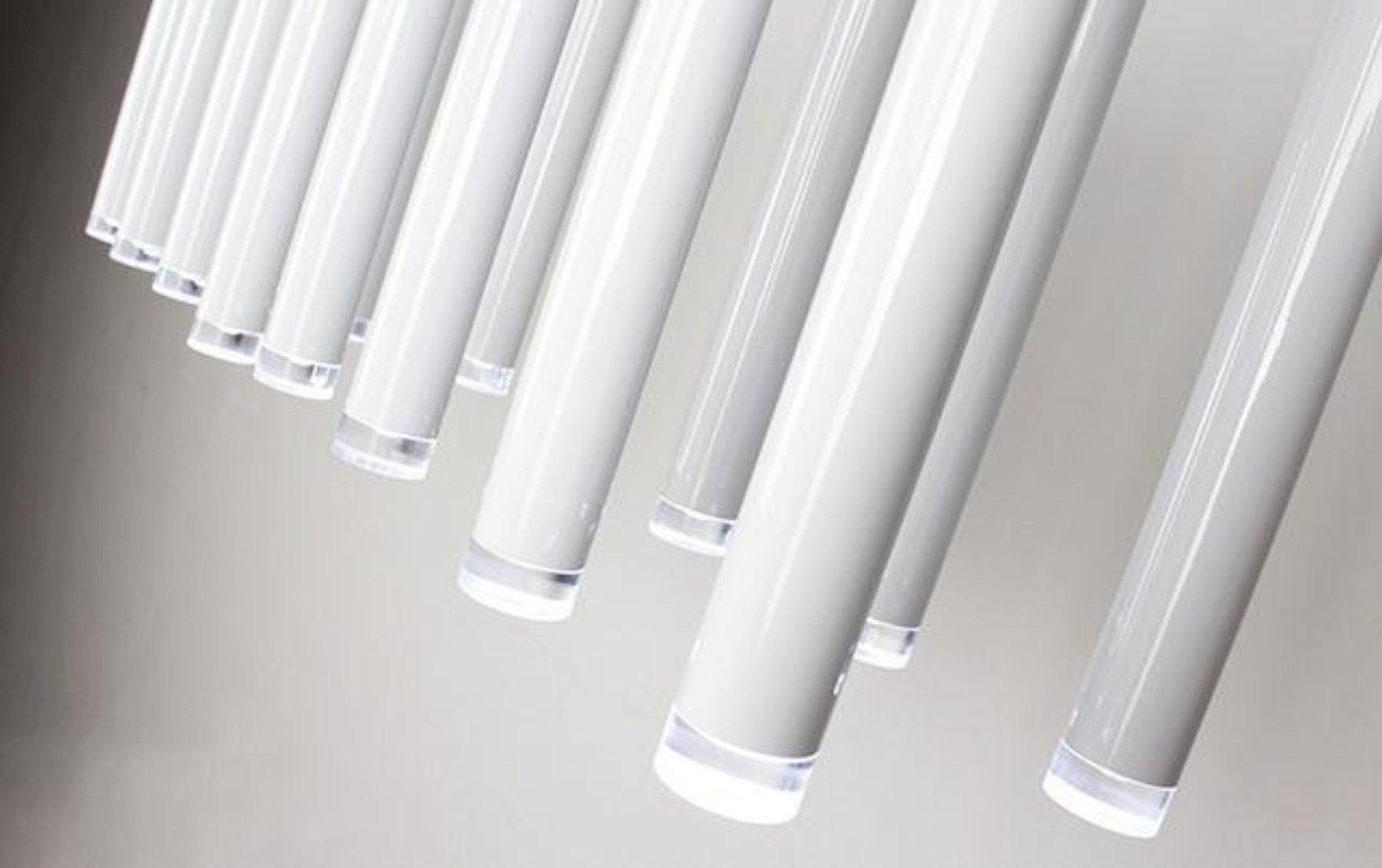 Ceiling light LED lights Single Lamp Long Bar Design Saving Energy Luxury Golden Aviation Aluminum H30 H50CM Dining room Bar