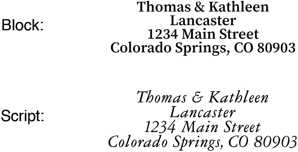 Seashore Personalized Return Address Labels- Set of 144 by Colorful Images Flat-Sheet Labels Large Self-Adhesive