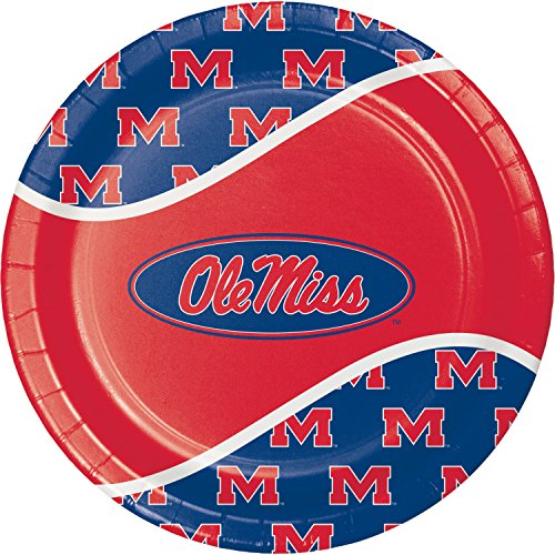 University of Mississippi Paper Plates, 24 ct -