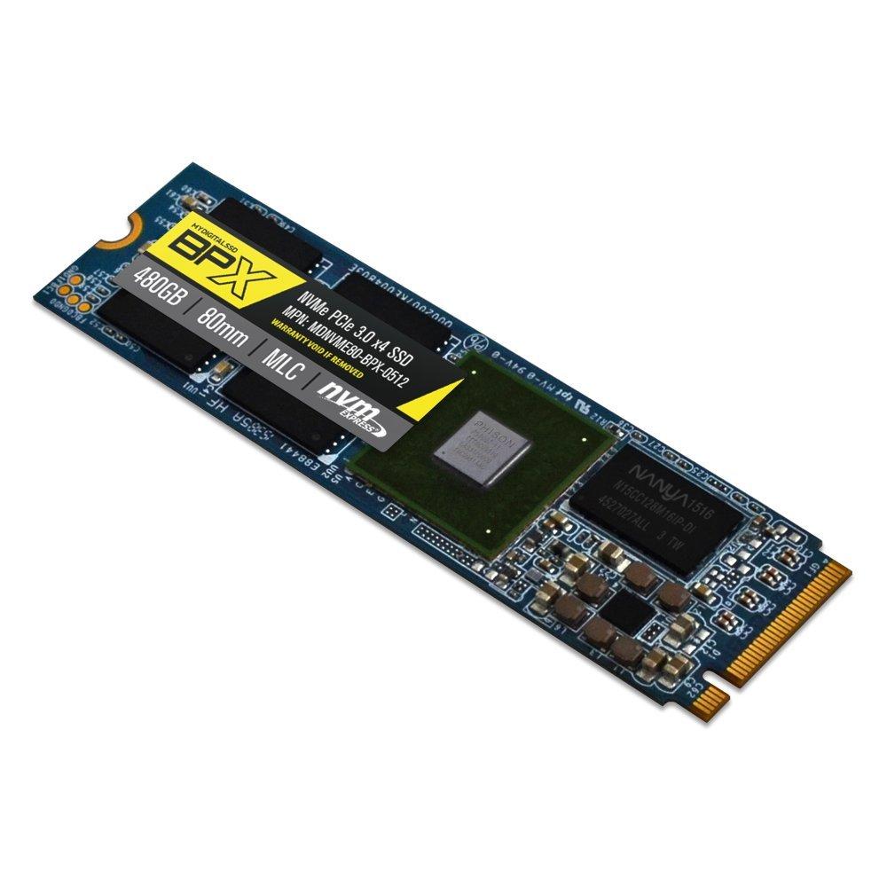MyDigitalSSD BPX 80mm (2280) M.2 PCI Express 3.0 x4 (PCIe Gen3 x4) NVMe MLC SSD (480GB) by MyDigitalSSD