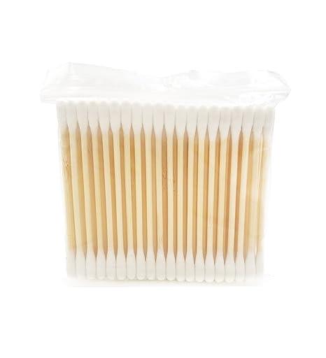 Bastoncillos Biodegradables |Bastoncillos Org/ánicos M/&W Vegan-Friendly Juego de 1000 Reciclable y Compostable Bastoncillos de algod/ón de bamb/ú