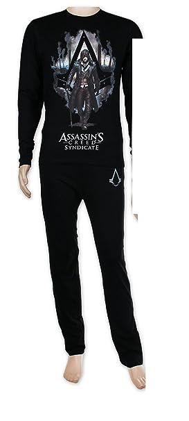Assassins Creed,, - Pijama - para Hombre Negro Negro Talla/X-Large