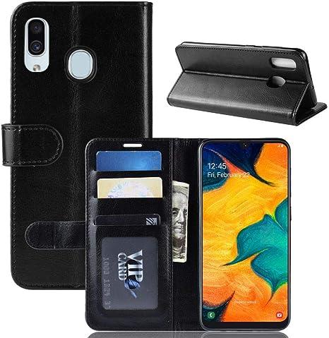 Hülle Für Samsung Galaxy A20 Pu Leder Hülle Tasche Elektronik