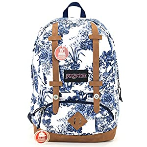 Jansport Baughman Backpack (white artist rose)