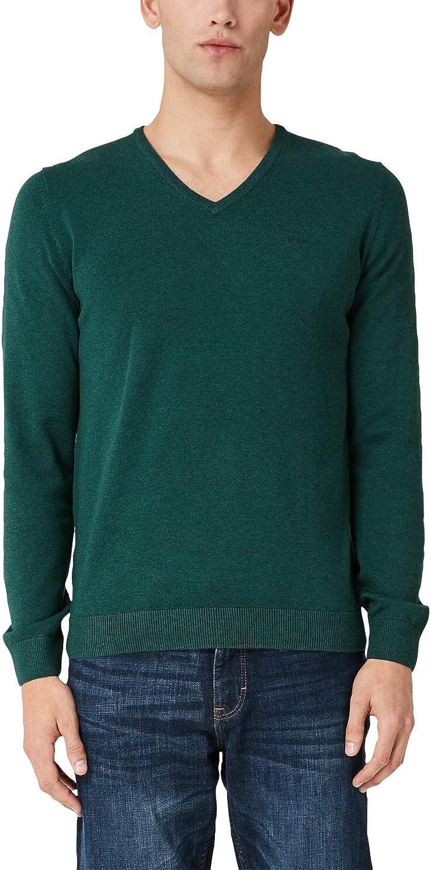 s.Oliver RED Label Herren Pullover mit V-Neck