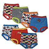 Disney Boys' Toddler 7pk Potty Training Pant, Cars Assorted, 4T