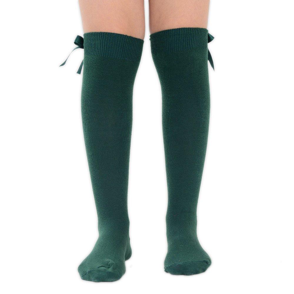 6X PAIR KNEE HIGH SOCKS WOMEN LONG SOCKS-GIRLS SCHOOL KNEE LENGTH SOCKS