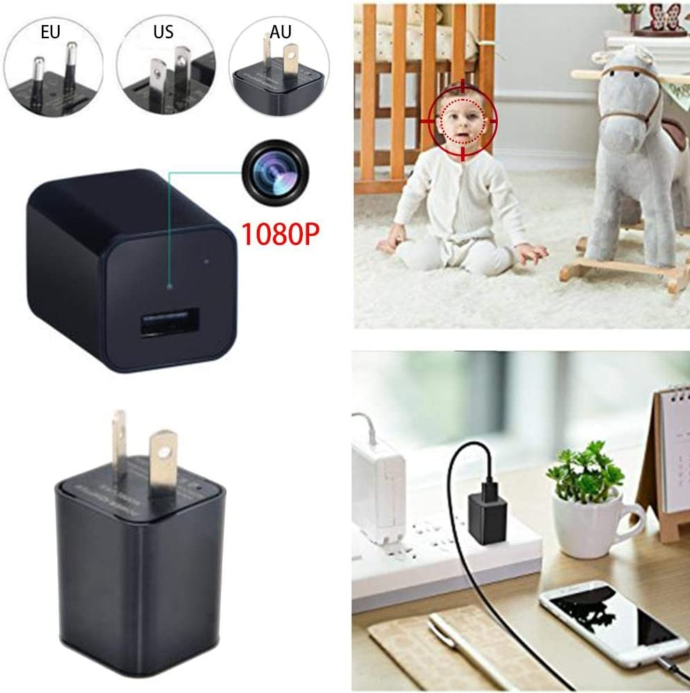 Reputedc 1080P USB Mobile Phone Charger AU AC Adapter