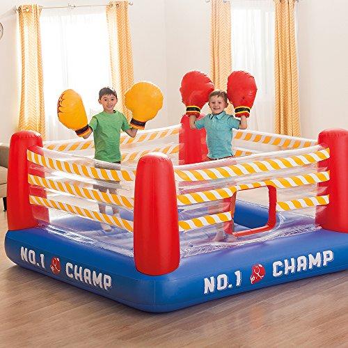 Intex Ring de boxe gonflable avec 2gants Boxing, 226x 110cm (48250)