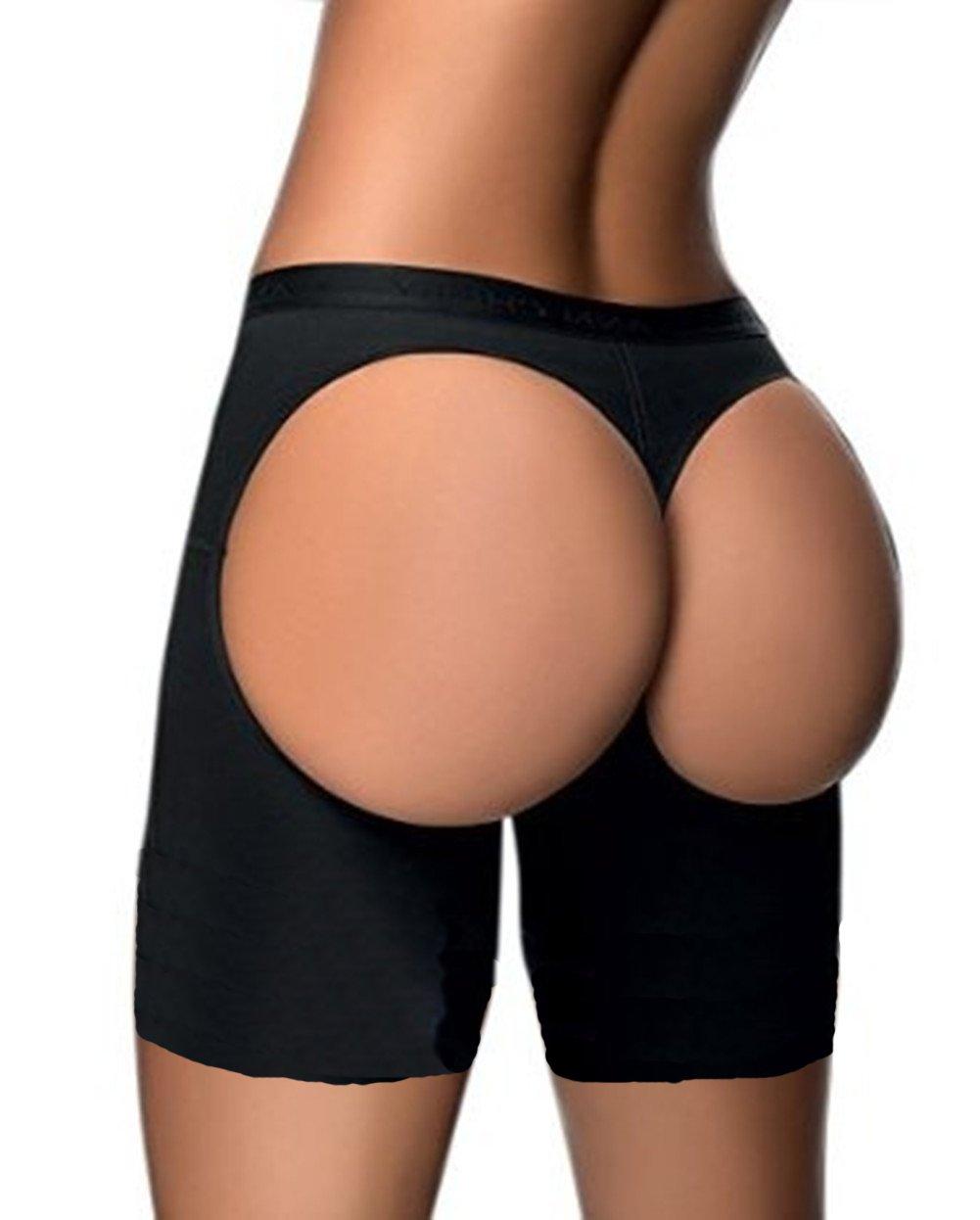 295183a0bb HOLYSNOW Women Apple Bottom Shapewear Butt Lifter Thigh Slimmer Control  Panty