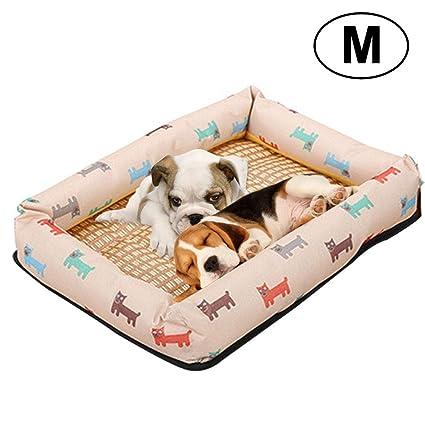 Alfombrilla de refrigeración para mascotas Pawaca, ayuda a tu perro a mantenerse fresco, natural