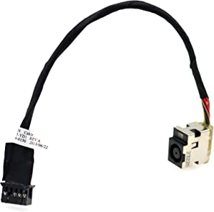 Deal4GO DC Power Jack Cable Replacement for HP Pavilion Envy DV6 DV6-7000 DV6T-7000 DV7-7000 DV7T-7000 DV7-5000 DV6-7002 DV6-7301 678225-SD1 678226-FD1 678225-YD1 CBL00300-0150