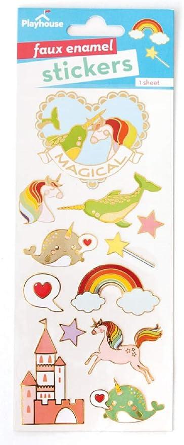 Playhouse Magical Fantasy Enamel Effect Sticker Sheet