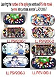 Custom Anime Love Live! Ps Vita1000 decal Love Live! Design Decorative Protector Skin Decal Sticker for PS vita 1000& Love Live! Psv1000 Decal & Love Live! Ps Vita 1000 Sticker