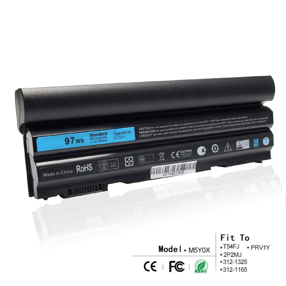 Bateria 11.1v 97wh 9 Celdas Para Dell Latitude E6420 E6430 E6520 E6530 E5420 E5520 E5430 E5530 Compatible P/n: M5y0x T54